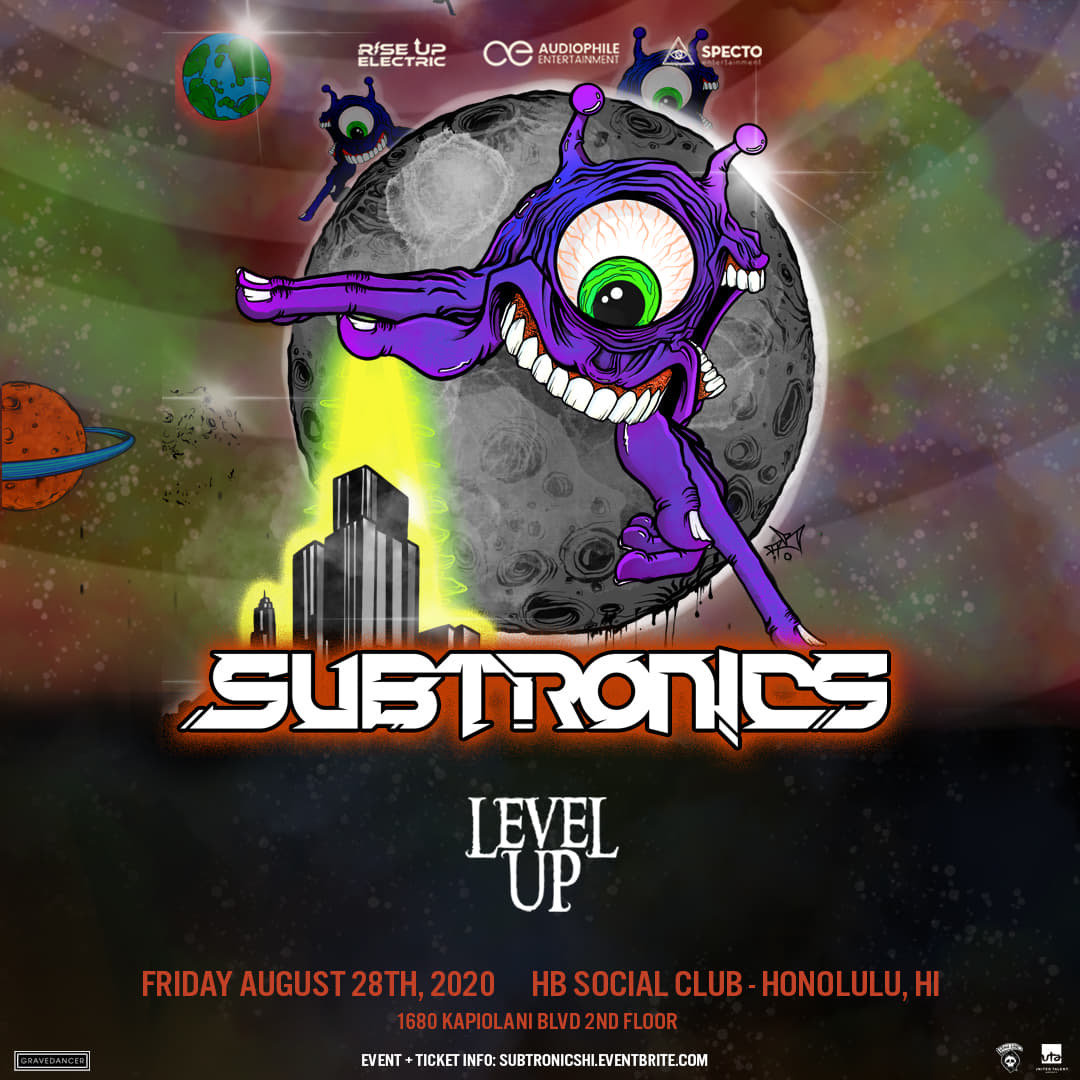 Subtronics Flyer Hawaii