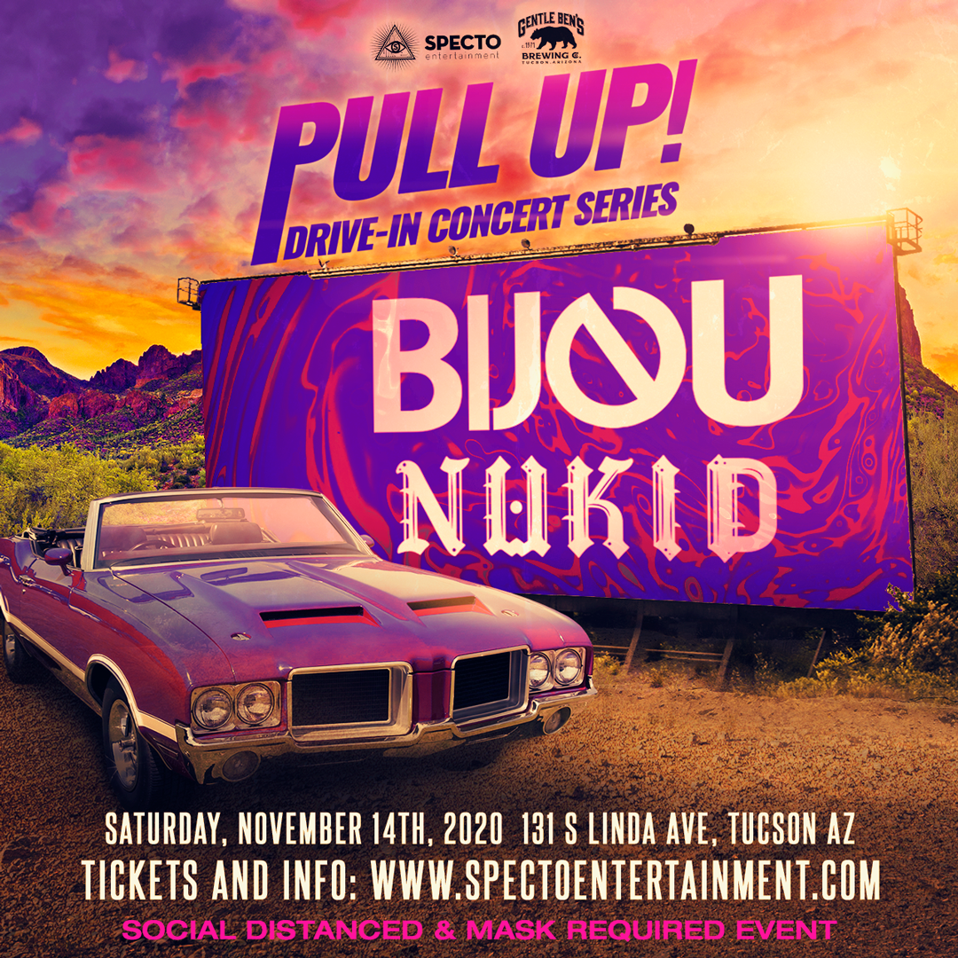 pull up drive in rave bijou nukid