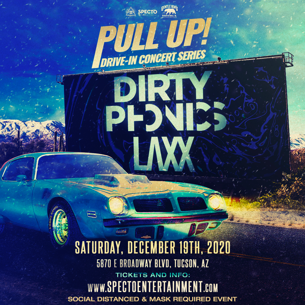 dirtyphonics laxx specto drive in rave